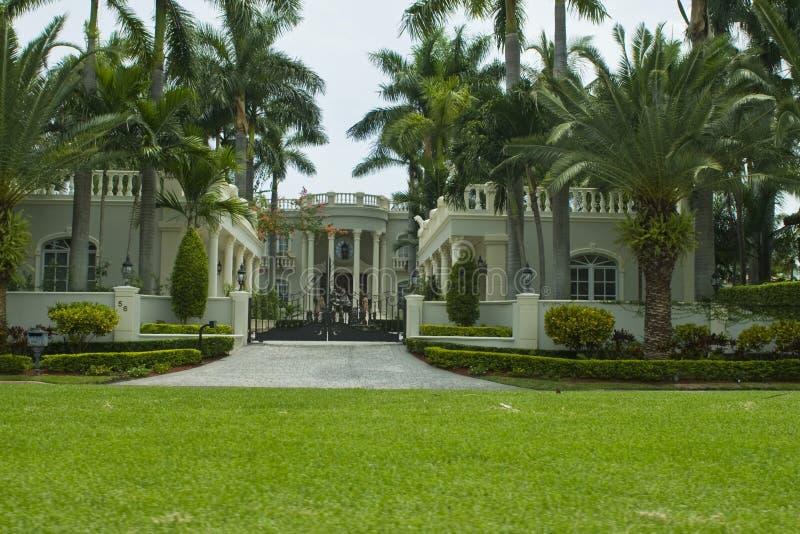 Het huis van het herenhuis royalty-vrije stock foto's