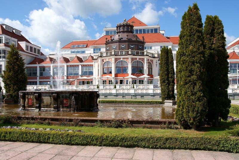 Het huis van het Kuuroord royalty-vrije stock foto's