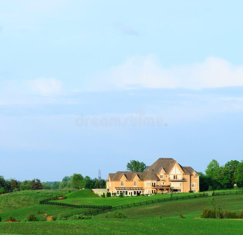 Het huis van het landgoed