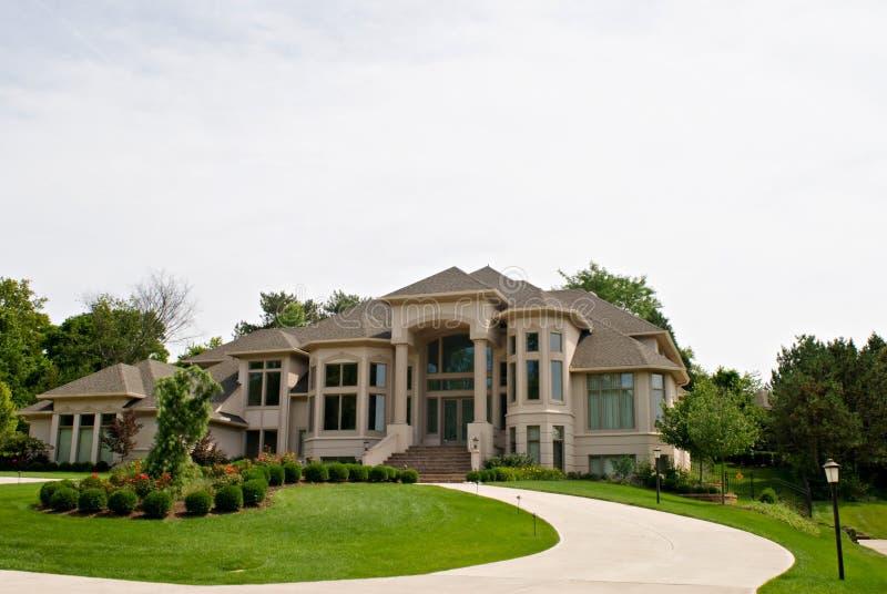 Het Huis van het miljoen dollar stock afbeeldingen