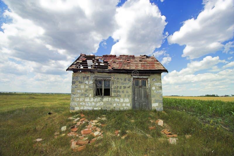 Het huis van het spook stock fotografie