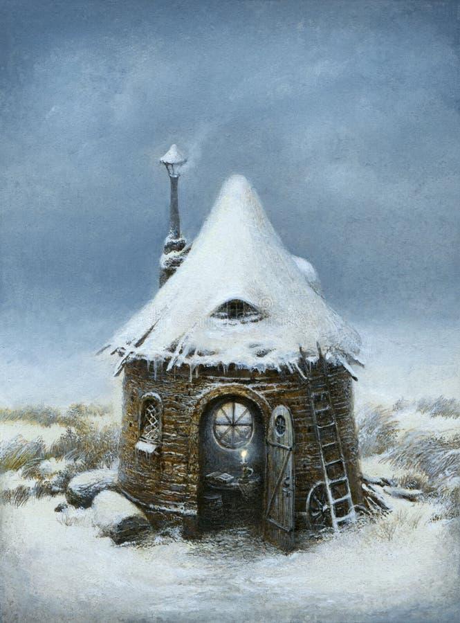 Het Huis van het sprookje vector illustratie