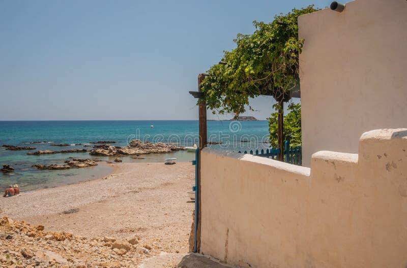 Het huis van het strand Home stock foto