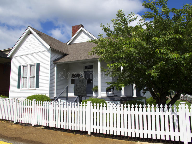 Het Huis van Jones van Casey in Jackson Tennessee royalty-vrije stock afbeeldingen