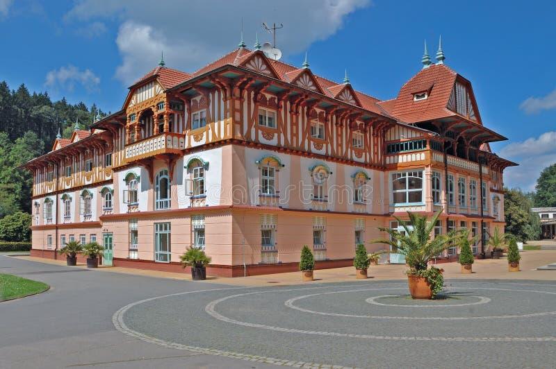 Het huis van Jurkovic stock foto's