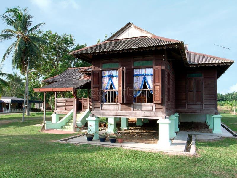 Het huis van Kampung royalty-vrije stock foto's
