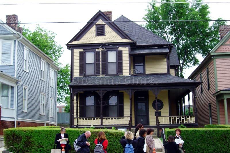 Het huis van Luther stock foto's