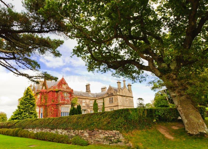 Het Huis van Muckross, Killarney, Ierland stock foto's