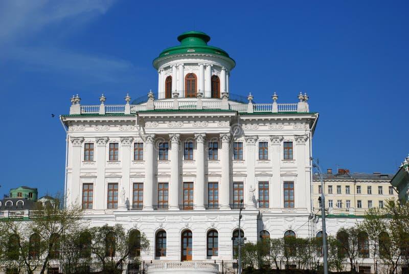 Het Huis van Pashkov. royalty-vrije stock afbeeldingen