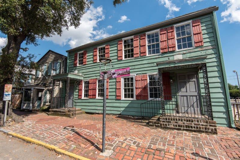 Het Huis van piraten in Savanne, GA royalty-vrije stock foto