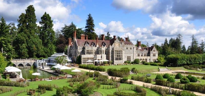Het Huis van Rhinefield, Engeland stock afbeeldingen