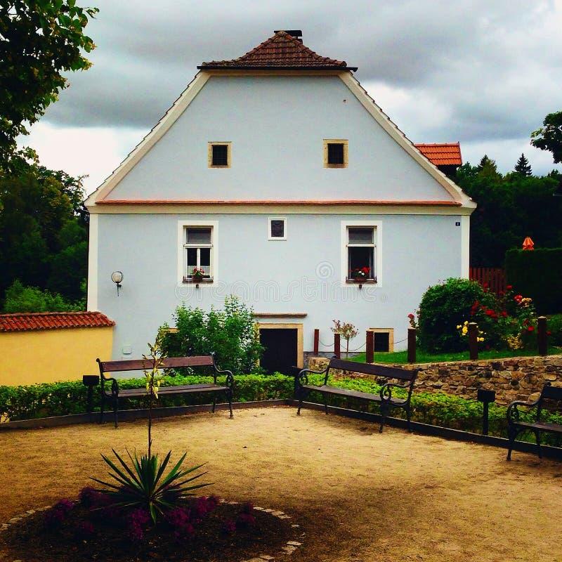 Het huis van het sprookje stock fotografie