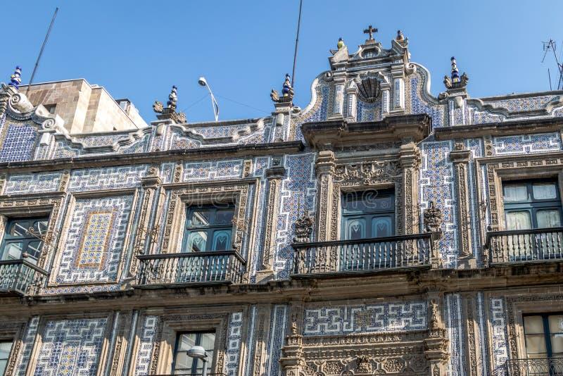 Het Huis van Tiles Casa DE los Azulejos - Mexico-City, Mexico royalty-vrije stock fotografie