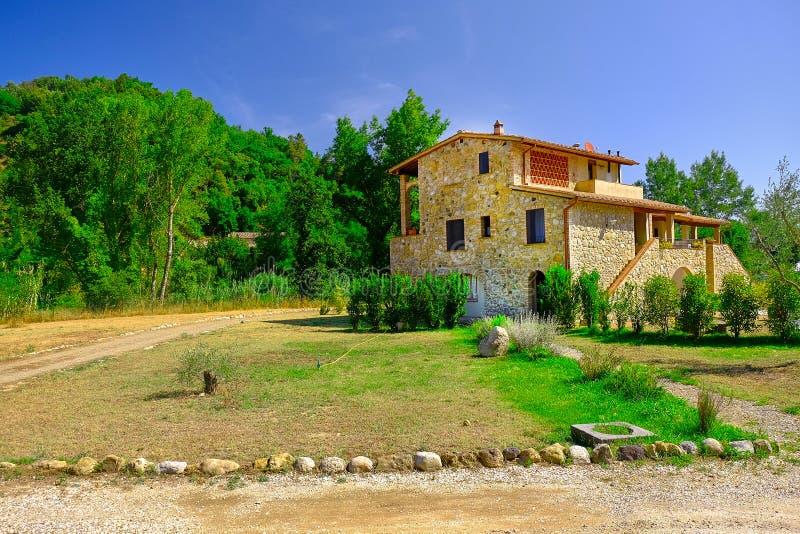 Het Huis van Toscanië stock foto