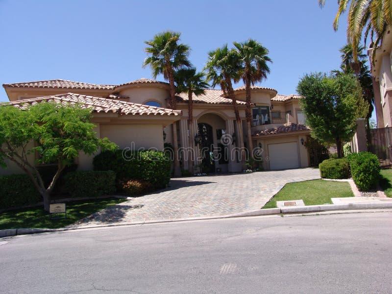 Het Huis van Vegas royalty-vrije stock afbeeldingen