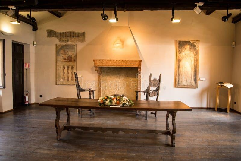Het huis van Verona van Juliet stock afbeeldingen