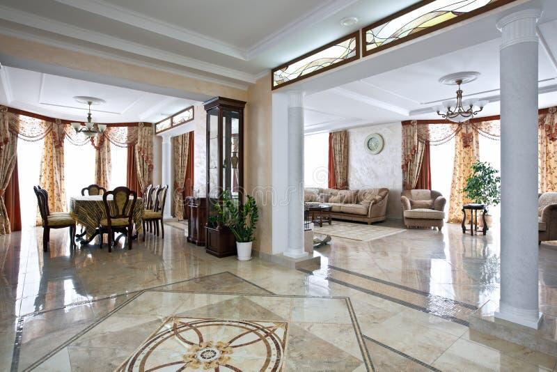 Het huisbinnenland van de luxe