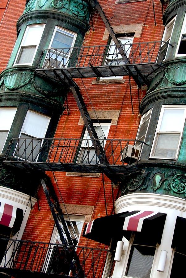Het huisfragment van Boston stock afbeelding