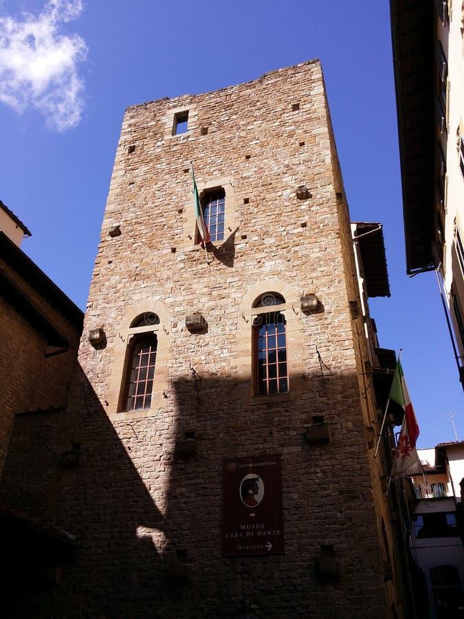 Het Huismuseum van Dante stock fotografie
