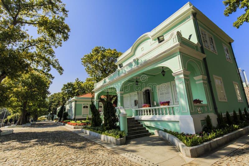 het huismuseum van tequilataipa royalty-vrije stock afbeelding