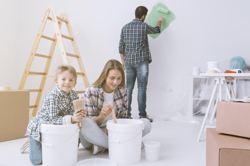 Het huisverbetering en vernieuwing royalty-vrije stock foto