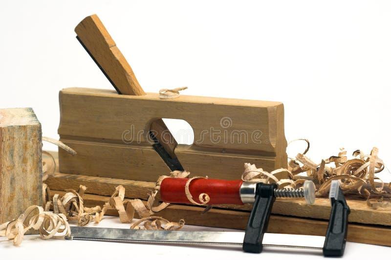 Het hulpmiddel van de timmerman stock foto