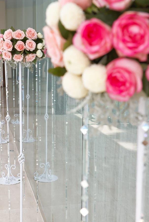 Het huwelijk nam bloemenemmer toe royalty-vrije stock foto's