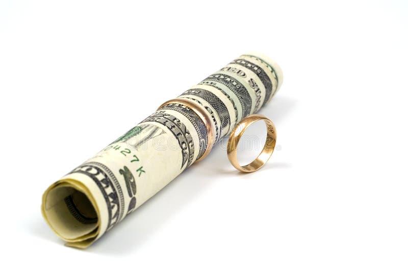 Het huwelijk is succes royalty-vrije stock foto's