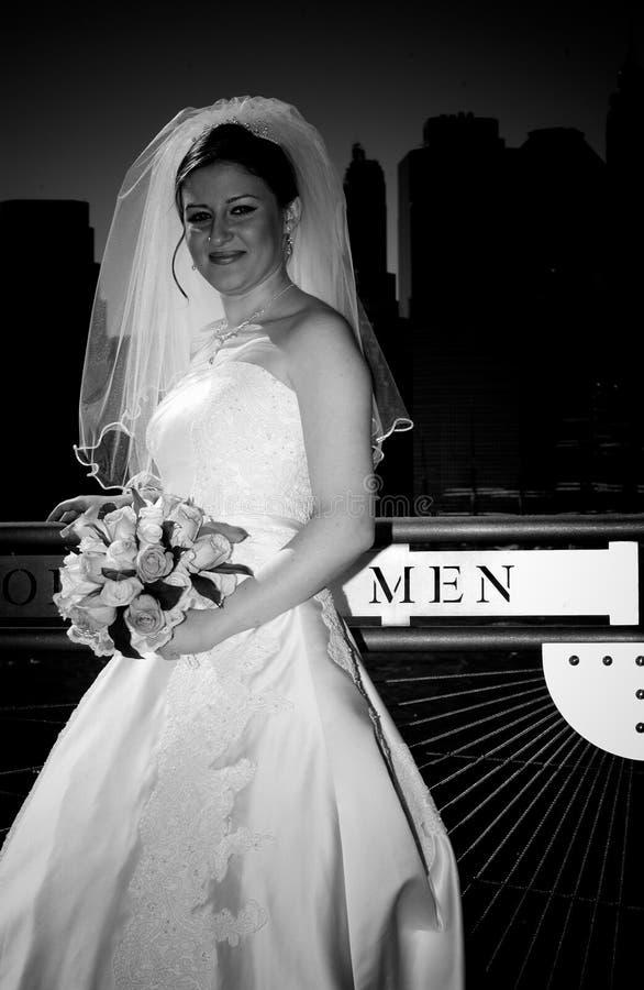 Het huwelijk van de Stad van New York stock foto
