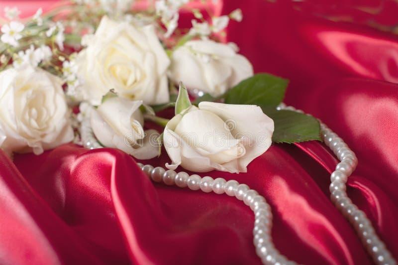Het huwelijksachtergrond van Nice royalty-vrije stock fotografie