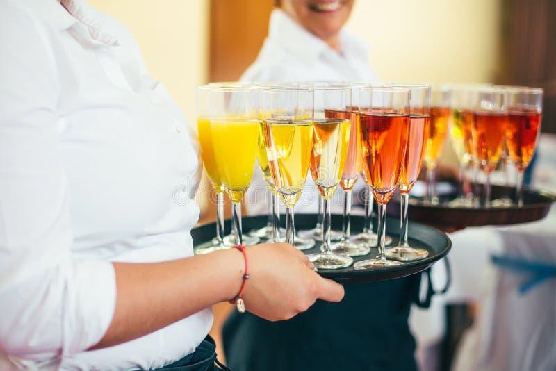 Het huwelijksbuffet van het cateringsvoedsel royalty-vrije stock fotografie