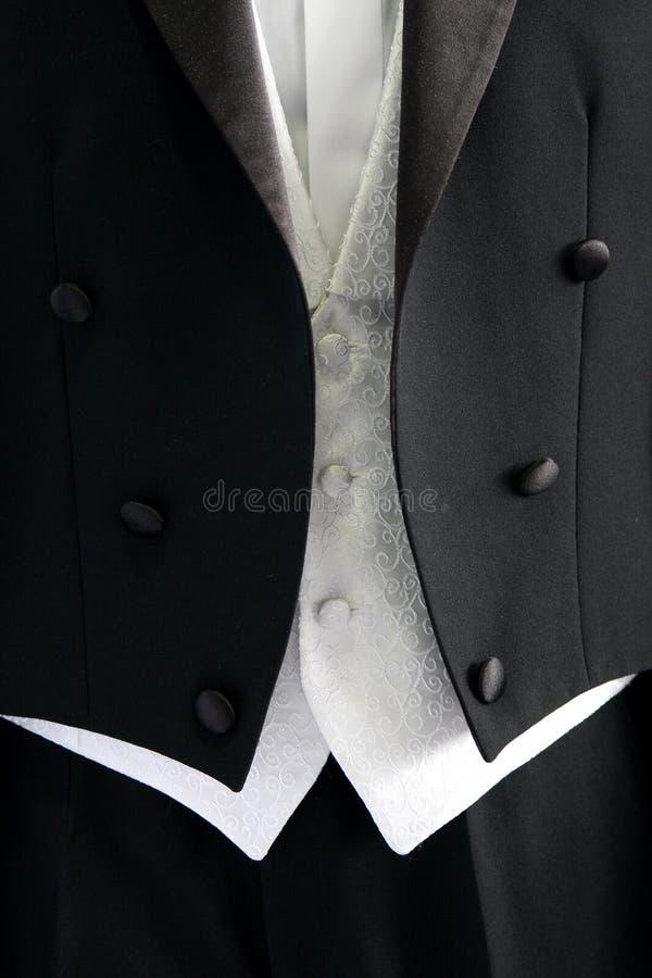 Het huwelijkskostuum van de bruidegom royalty-vrije stock foto