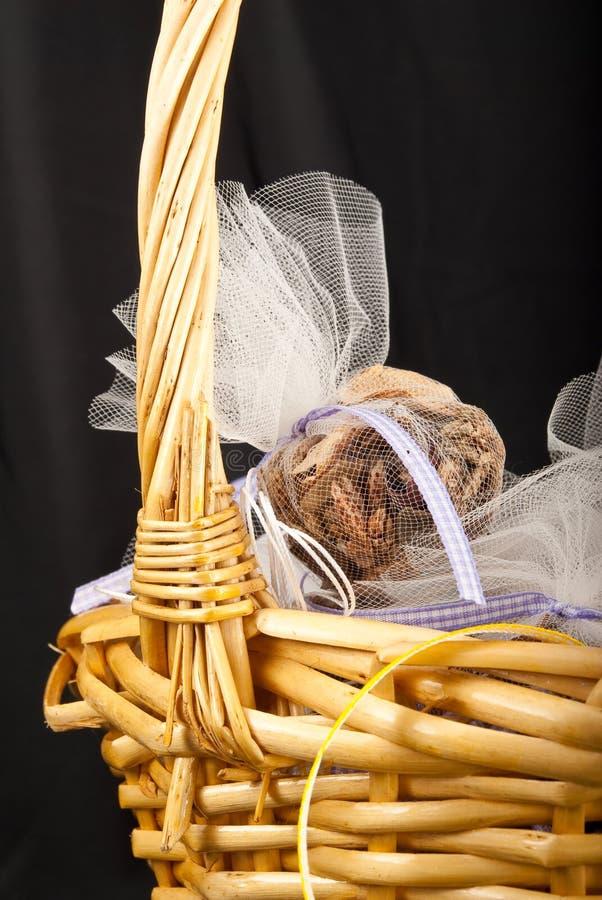 Het Idee van de Gift van het welriekend mengsel van gedroogde bloemen en kruiden stock fotografie