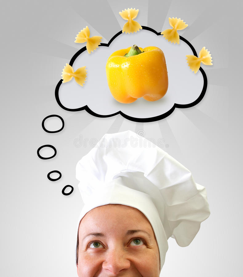Het idee van de kok