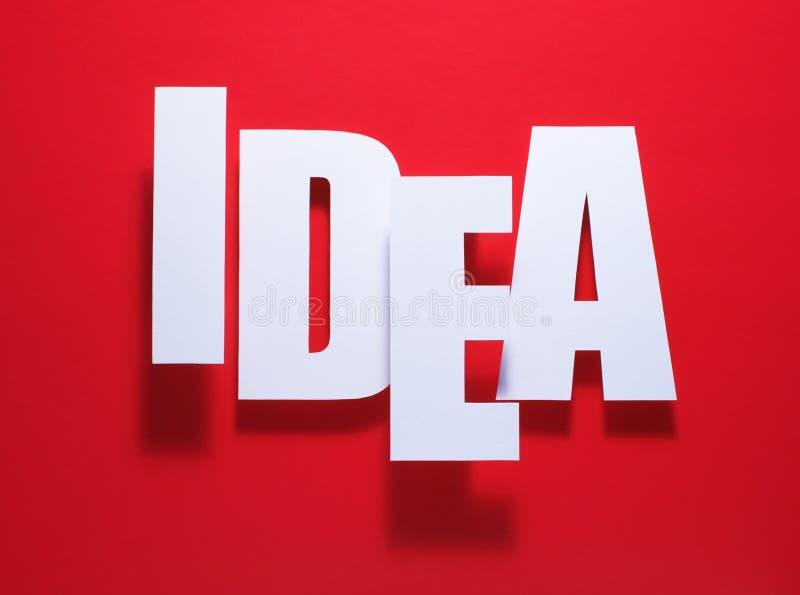 Het idee van?? het sluiten royalty-vrije stock foto's