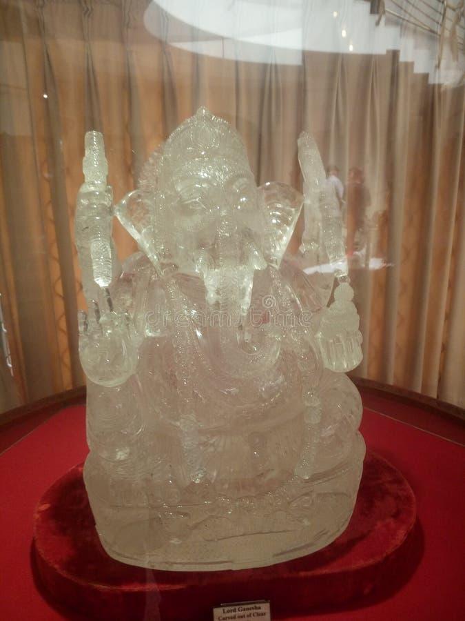 Het idool van Ganesha stock foto