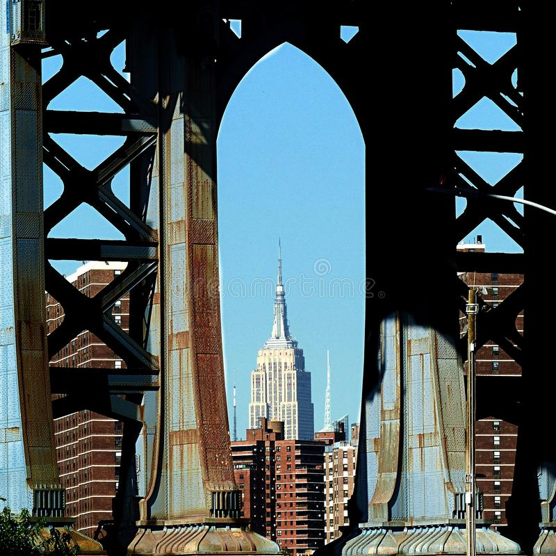 Het Imperium van New York Manhattan royalty-vrije stock afbeeldingen