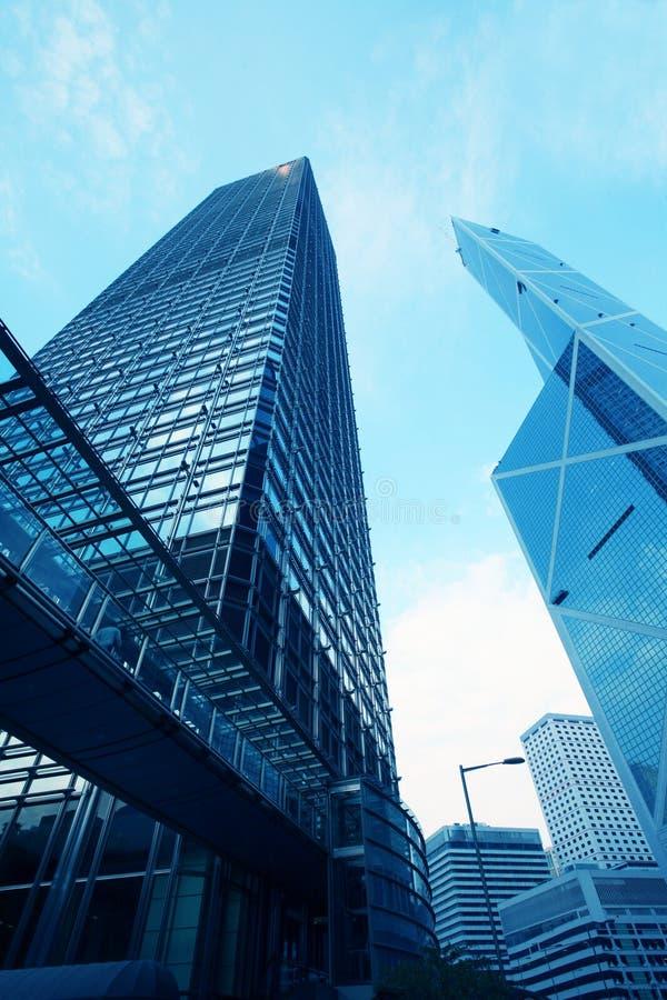 Het inbouwen van Hongkong stock foto's