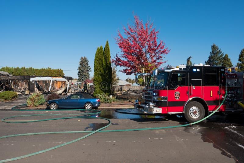 Het Incident van de brandstichtingsgewapende man in Springfield Oregon 27 Oktober stock foto's