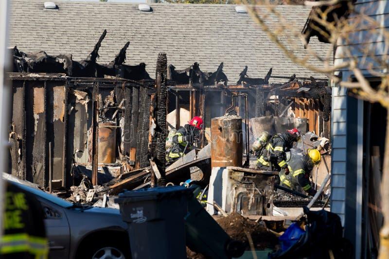 Het Incident van de brandstichtingsgewapende man in Springfield Oregon 27 Oktober royalty-vrije stock foto
