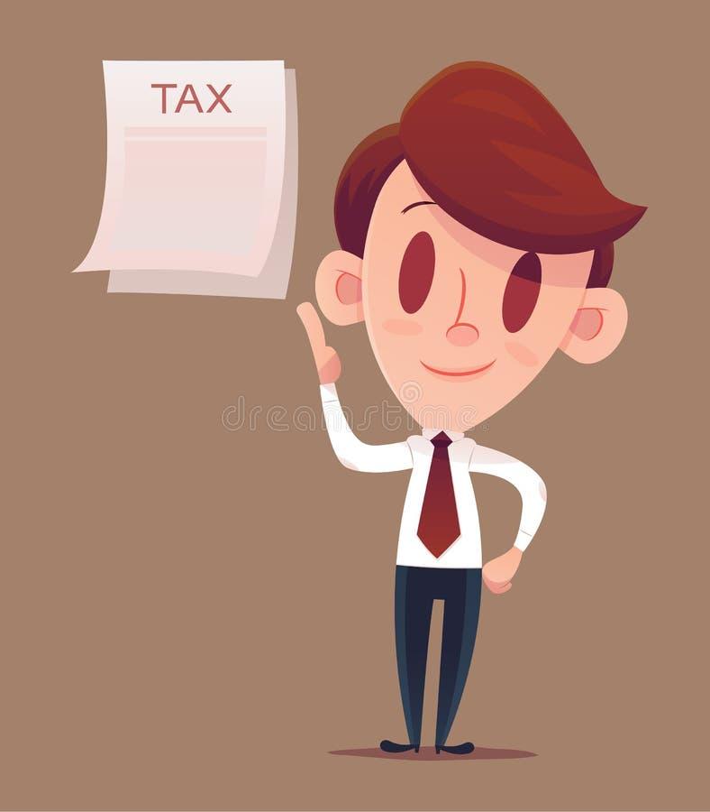 Het indienen van Uw Belastingen royalty-vrije illustratie