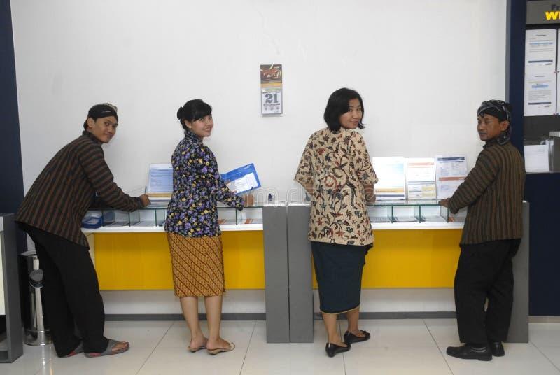 HET INDONESISCHE MANDIRI-BUSINESSPLAN VAN BANK royalty-vrije stock fotografie