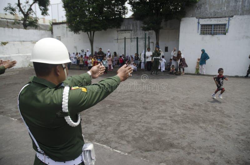 HET INDONESISCHE MILITAIRE HERSTRUCTURERINGSPLAN VAN TNI royalty-vrije stock fotografie