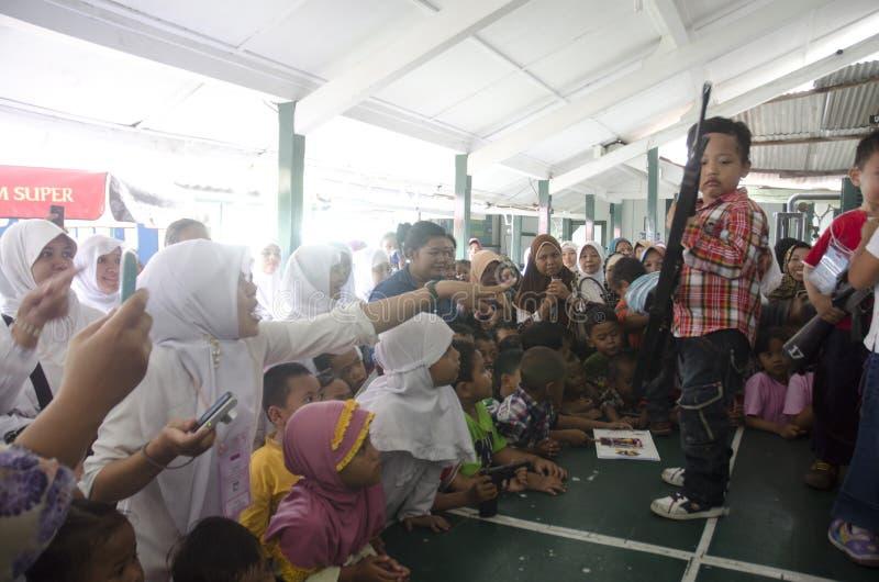 HET INDONESISCHE MILITAIRE HERSTRUCTURERINGSPLAN VAN TNI royalty-vrije stock foto