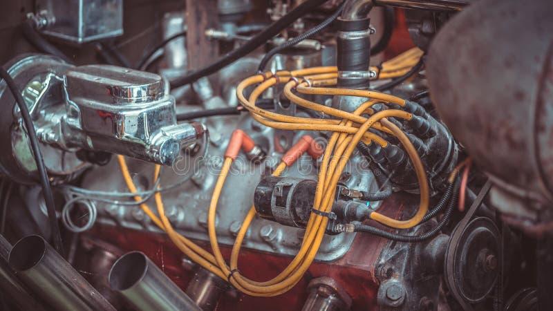 Het industriële Apparaat van de Mechanische Machtsmotor stock foto