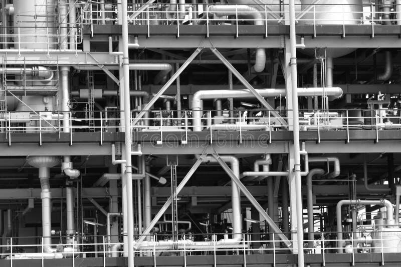 Het industriële Door buizen leiden stock foto's