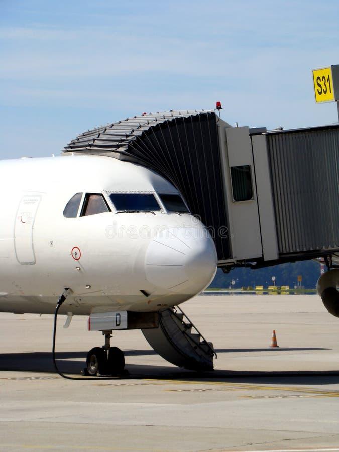 Vliegtuig het Inschepen