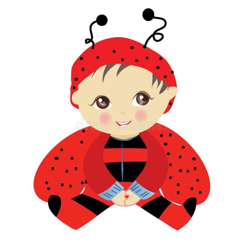 Het insect van de baby stock illustratie