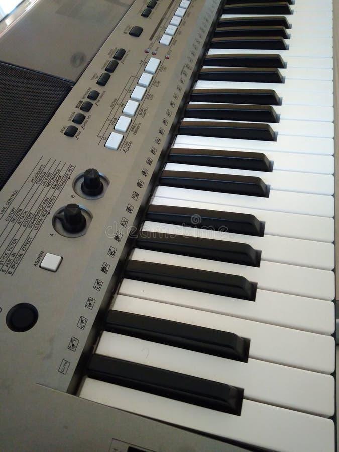 Het Instrument van de toetsenbordenmuziek royalty-vrije stock foto's