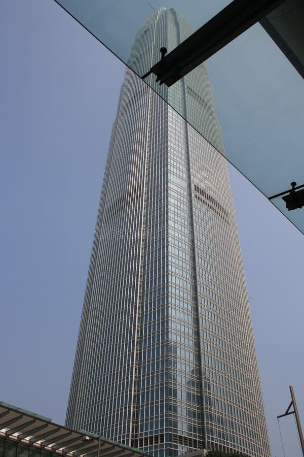 Het internationale Centrum van Financiën royalty-vrije stock afbeeldingen